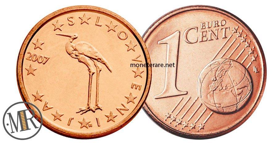 1 cents slovenian euro coins