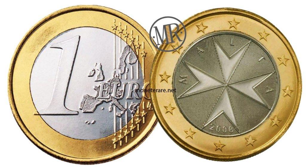 1 Euro Malta Euro Coins
