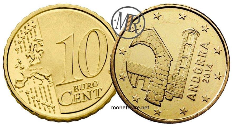 10 Centesimi Euro Andorra