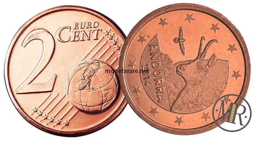 2 Centesimi Euro Andorra