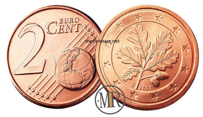 2 cents German Euro Coins