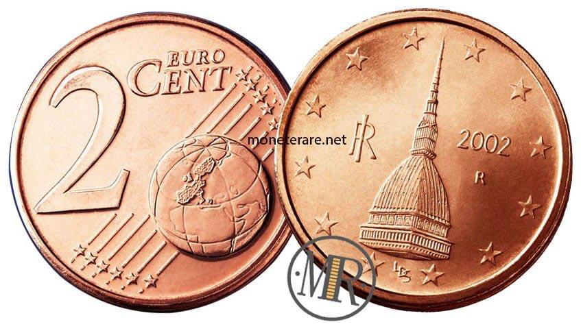 2 centesimi euro italia