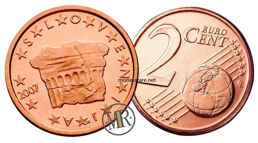 2 cents slovenian euro coins