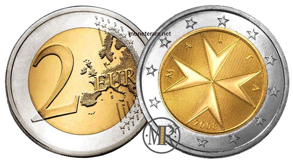 2 Euro Malta Euro Coins