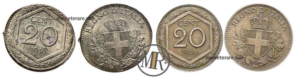 20 Centesimi Esagono Riconio