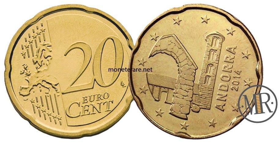 20 Centesimi di Euro di Andorra