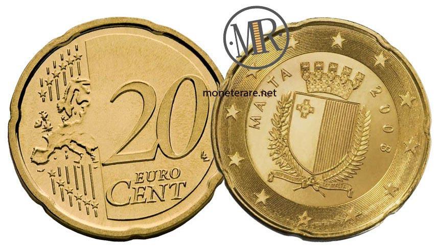 20 cents Malta Euro Coins