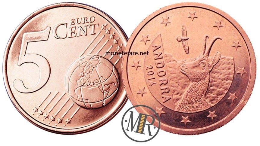5 Centesimi Euro Andorra
