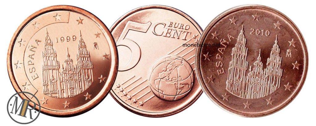 5 Cent Spain Euro Coin