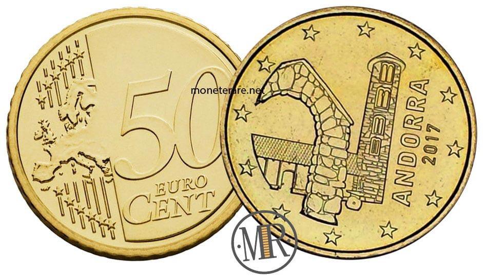 50 Centesimi Euro Andorra