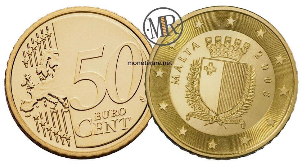 50 cents Malta Euro Coins