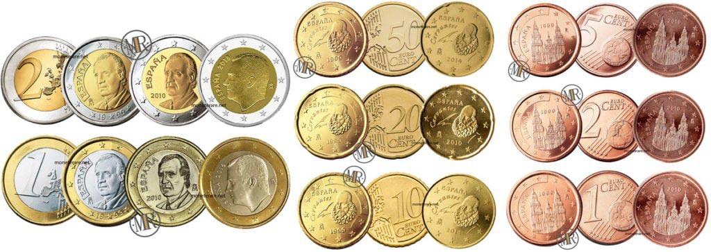 Monete Euro Spagna