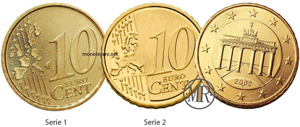 10 cents German Euro Coins