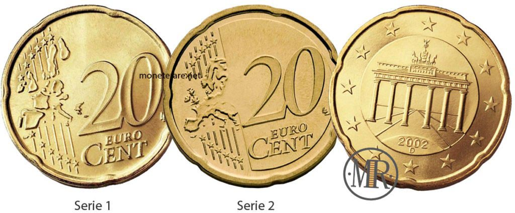 20 cents German Euro Coins
