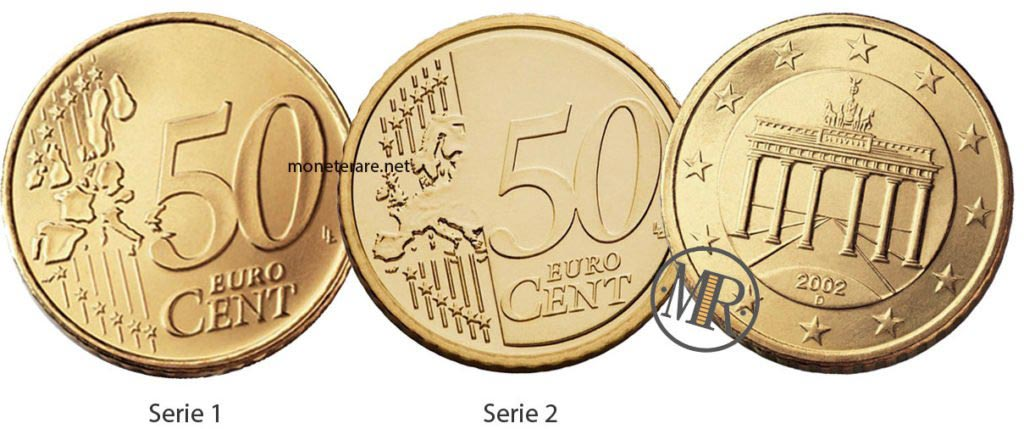 50 cents German Euro Coins