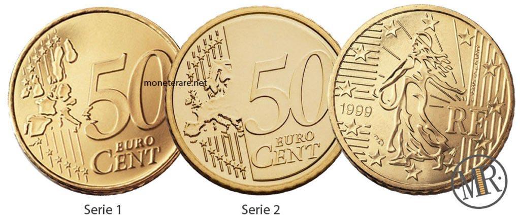 50 centesimi di euro francia