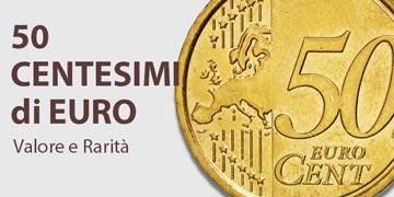 50 centesimi di euro rari