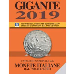 catalogo gigante 2019 monete italiane