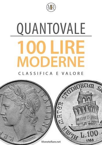 copertina catalogo quantovale 100 lire moderne