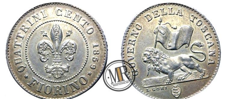 Fiorino d'argento 1859