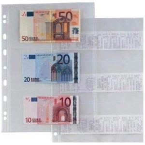 fogli porta banconote da collezione