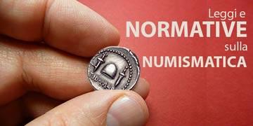 leggi e normative sulla numismatica