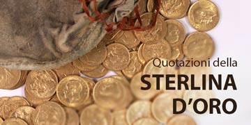 sterline d'oro