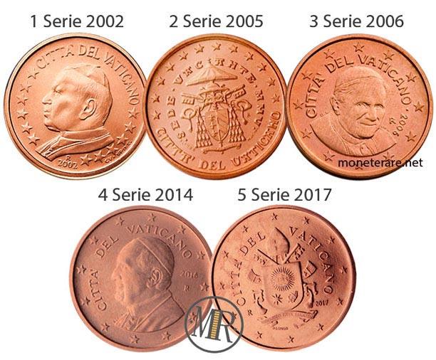 1 cents Vatican Euro Coin