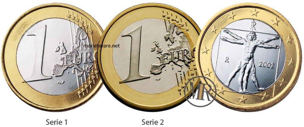 1 Euro Italia uomo vitruviano