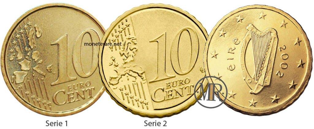 10 Centesimi Euro Irlanda Eurocollezione