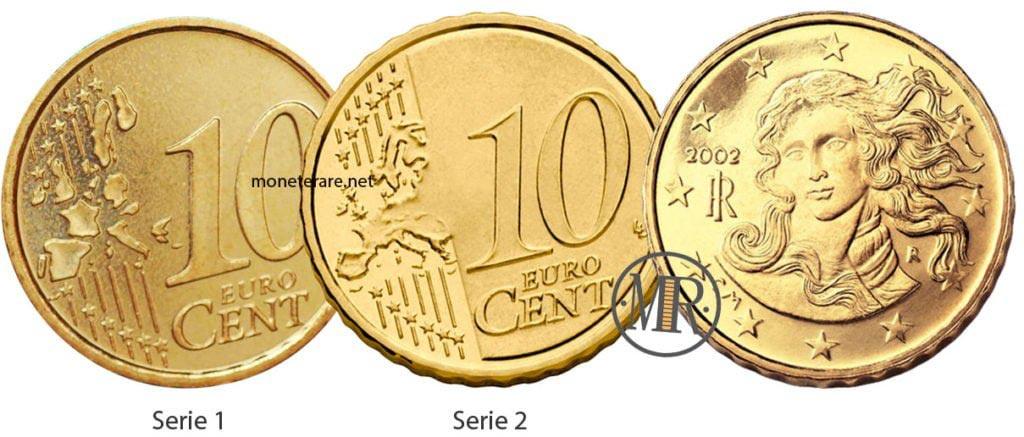 10 Centesimi Euro Italia Eurocollezione