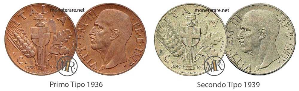 10 Centesimi Impero PROVA 1936 - 1939
