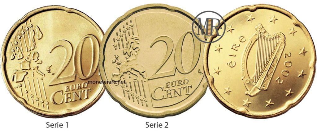 20 Centesimi Euro Irlanda Eurocollezione