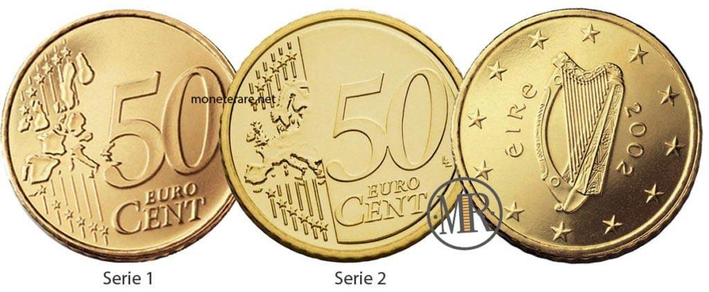 50 Centesimi di Euro Irlandesi