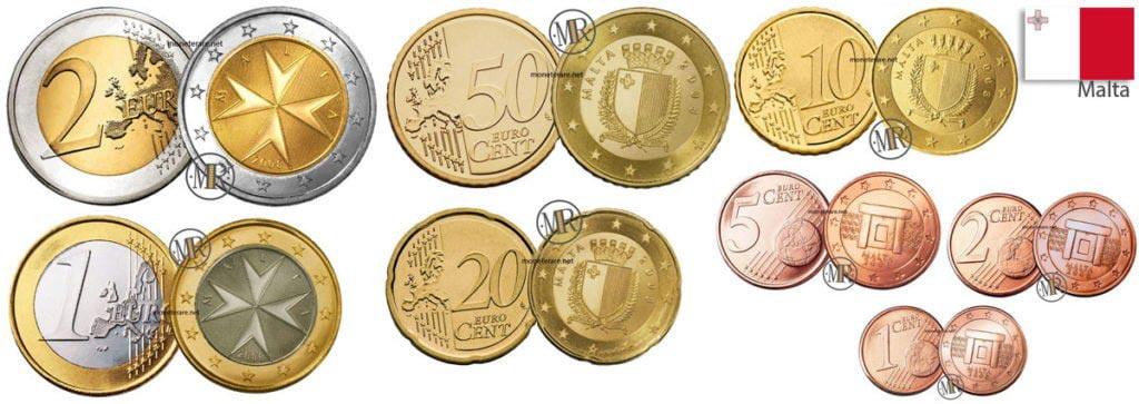 Euro Malta Monete