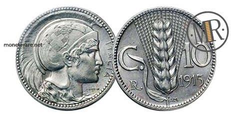 Progetto B per 10 Centesimi 1915