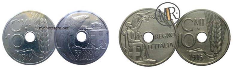 Progetto E per 10 Centesimi 1915