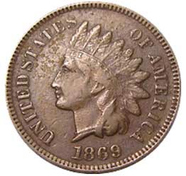monete-americane-rare-1869-Indian-Head-Penny