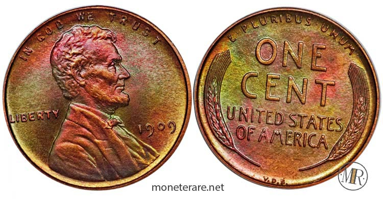 monete-americane-rare-Centesimo-dollari-rari-1909-VDB-Matte-Proof-Lincoln-Penny-most-valuable-pennies