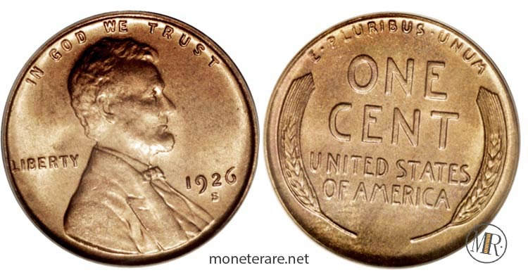 monete-americane-rare-Centesimo-dollari-rari-1926-most-valuable-pennies-lincoln