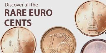 rare euro cents coins