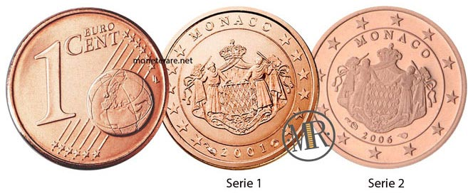 1 Centesimo Euro Monaco