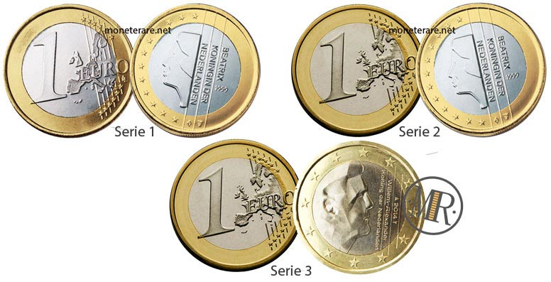 1 Euro Dutch Coins