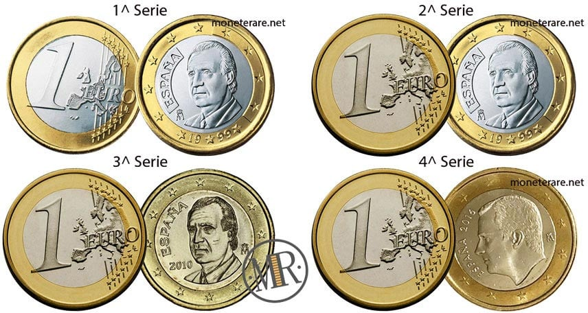 1 euro spanish euro coin