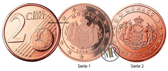 2 Centesimi Euro Monaco