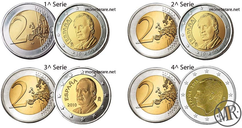 2 euro spanish euro coin