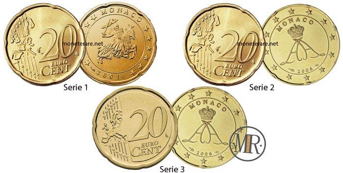 20 cent Monaco Euro Coins