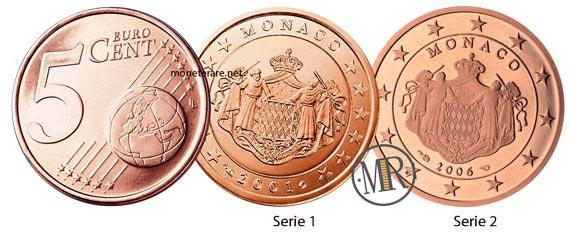 5 Centesimi Euro Monaco