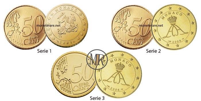 50 Centesimi Euro Monaco