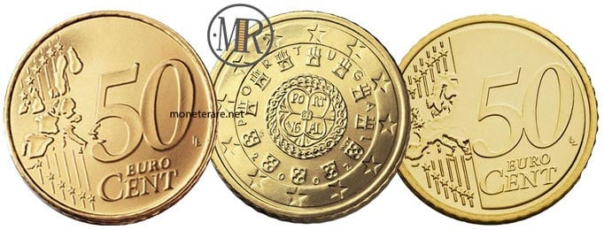 50 cent Portugal Euro Coins